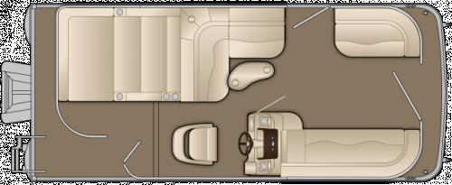 2012 BENNINGTON 24 SSL W/ F90 YAMAHA 4-STOKE O/B