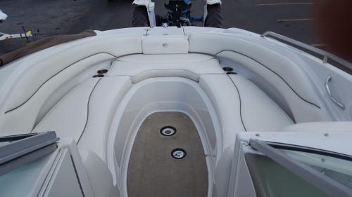 2007 CROWNLINE 260 EX DECK BOAT W /6.2L MERC MPI V8 BIII I/O & TANDEM AXLE TRAILER
