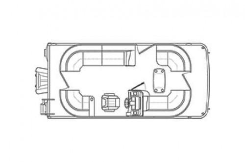 2019 BENNINGTON 20 SSRCXP W/ YAMAHA F115 4-STROKE O/B