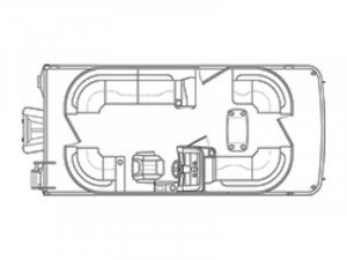 2019 BENNINGTON 22 SSRCXP W/ YAMAHA F150 4-STROKE O/B