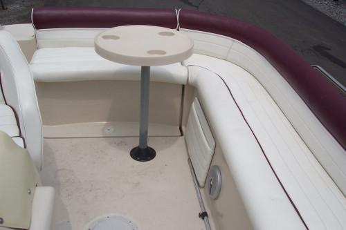 1997 HARRIS ULTRASPORT 20' DECK BOAT W/ VOLVO 4.3L V6 I/O