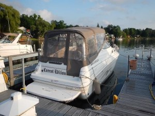 2007 LARSON 27' 260 CABRIO CRUISER W/ 350 MAG MPI BRAVO III I/O