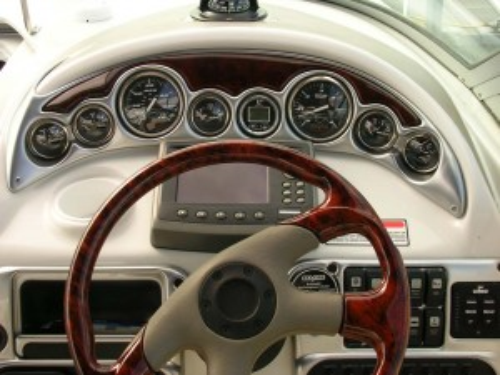2004 CROWNLINE 250 CR W/ 350 MABG MPI BIII & VENTURE TRAILER