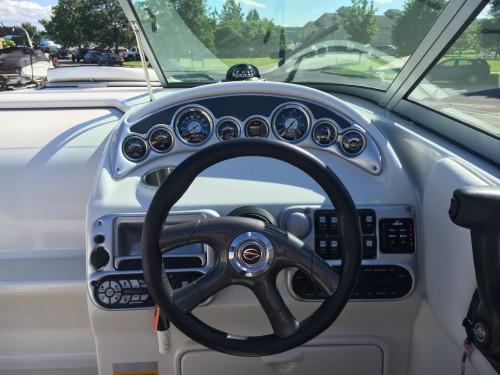 2008 CROWNLINE 230 CCR w/ 350 MAG MPI V8 MERC I/O & TRAILER
