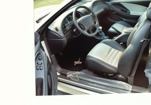 1999 FORD MUSTANG GT ANNIVERSARY EDITION