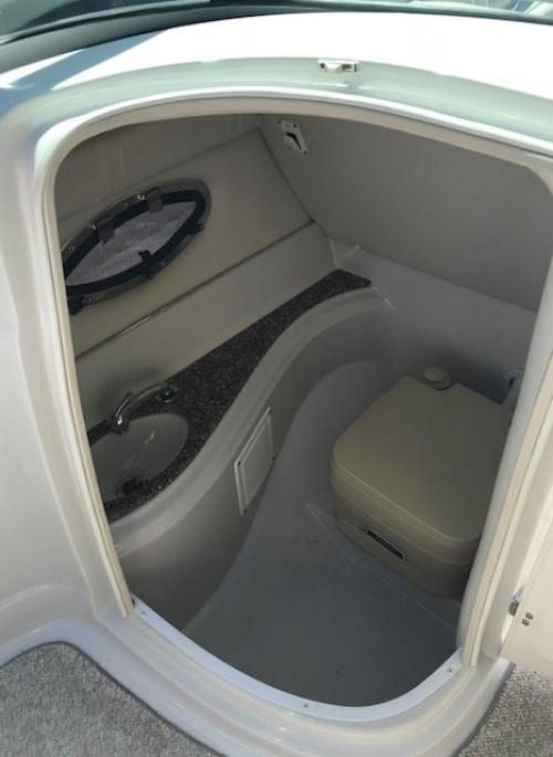 2010 CROWNLINE  220 EX DECK BOAT W/ MERC 350 MAG BIII I/O & 2012 TANDEM TRAILER
