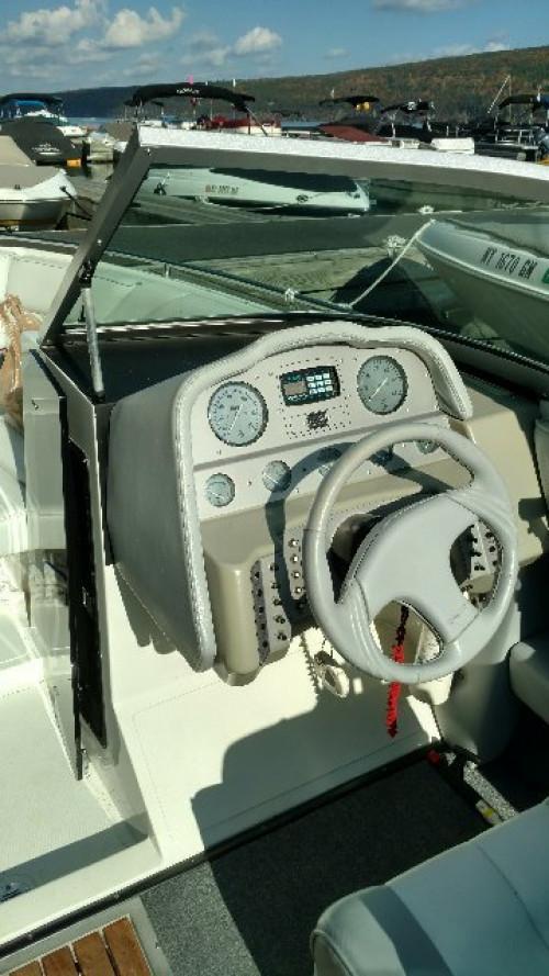 1990 COBALT 22' OPEN BOW W/ MERC V8 I/O & TRAILER