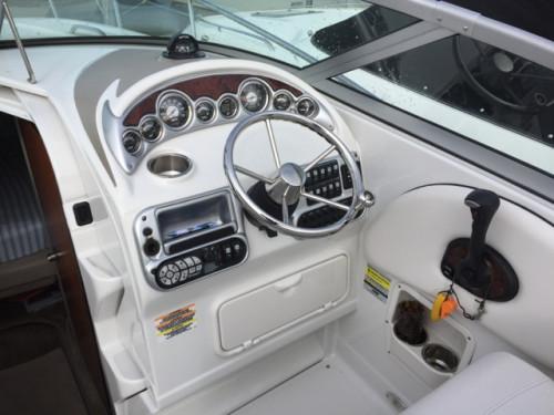 2006 CROWNLINE 250 CR W/ 350 MAG MPI BRAVO III I/O & TRAILER