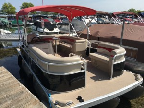 2012 BENNINGTON 22 SL PONTOON BOAT W/ YAMAHA F115 4-STROKE O/B