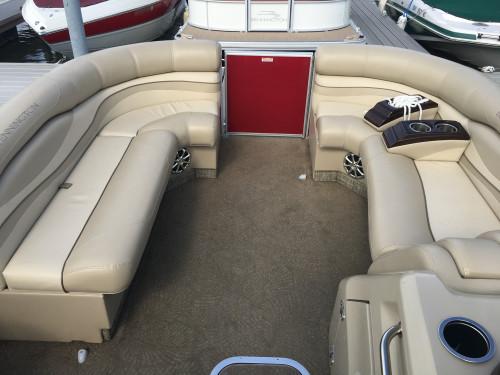 2013 BENNINGTON 22 RCW PONTOON BOAT W/ YAMAHA F150 4-STROKE O/B