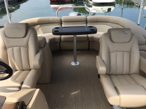 2017 BENNINGTON 22 SSRXP PONTOON BOAT W/ TWIN ELLIPTICAL FRESH WATER PACKAGE & YAMAHA F 150 4-STROKE O/B