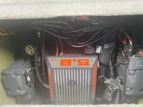1992 FOUR WINNS 225 SUNDOWNER CUDDY CABIN W/5.7L V8 I/O AND TRAILER