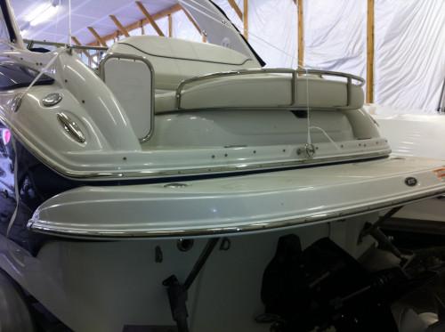 2007 CROWNLINE 270 CR W/ 496 MAG MPI MERC V8 BRAVO III