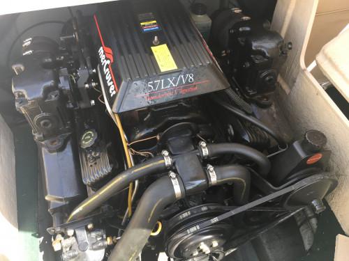 1996 CELEBRITY OPEN BOW W/ 5.7L V8 MERC I/O