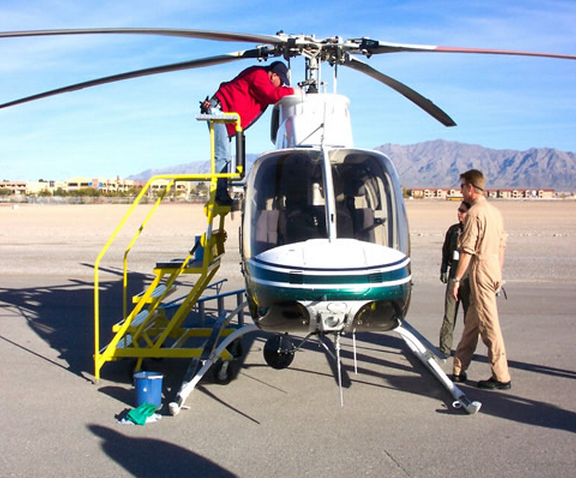 200 Series Helicopter Maintenance Platform