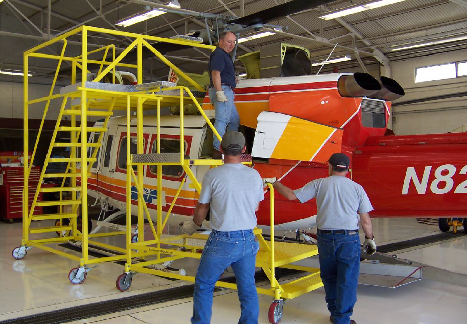 250 Series Helicopter Work Platforms