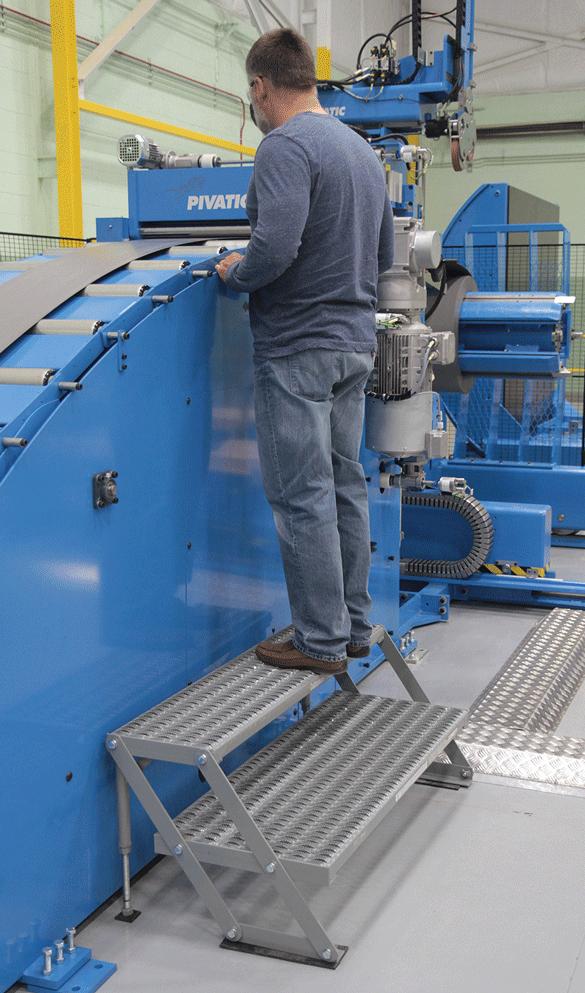 Adjustable Height Work Platforms Model# 2AWP