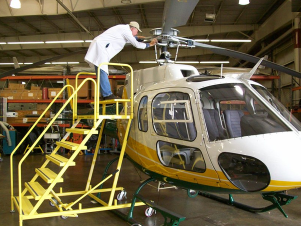 300 Series Helicopter Maintenance Work Stands