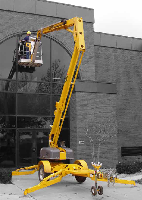 3622T Trailer Mounted Boom Lift