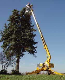 3632T Trailer Mounted Boom Lift