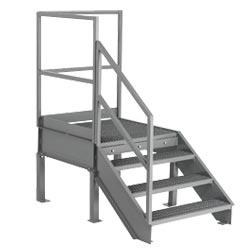 36.4 Degree Industrial Stairway and Platform