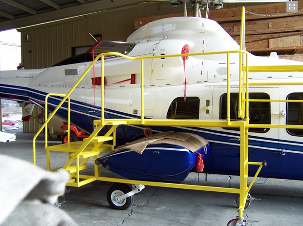 700 Series Helicopter Work Stand