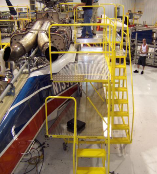 800 Series Helicopter Maintenance Stand