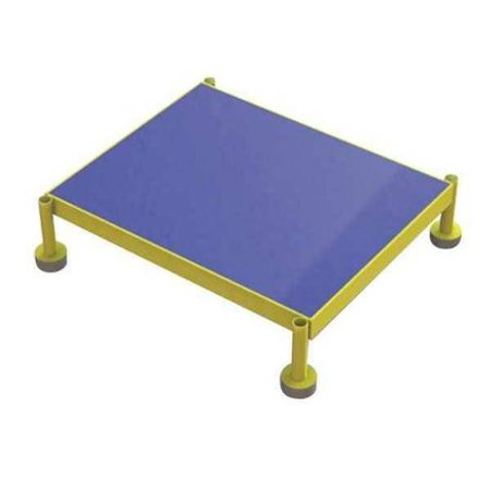 Adjustable Height One Step Work Platform Model# MCOS24199