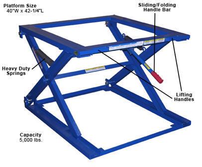 Adjustable Pallet Stand_PS-4045