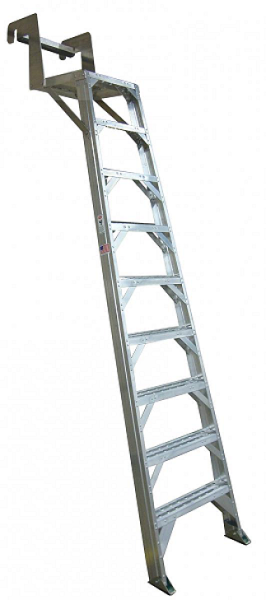 B767 Aircraft Wheelwell Ladder