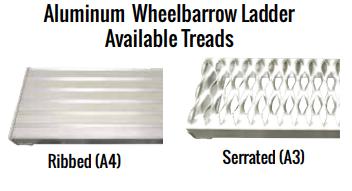 Aluminum_Wheelbarrow_Ladder_Tread_Options
