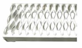 Aluminum Rolling Ladder_Serrated treads