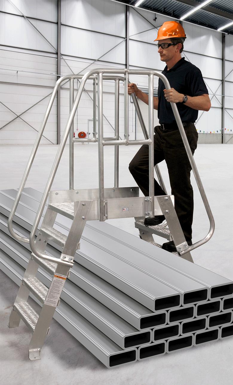 Aluminum Crossover Bridges