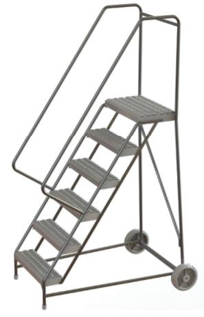 Aluminum Ladder - Wheelbarrow Style