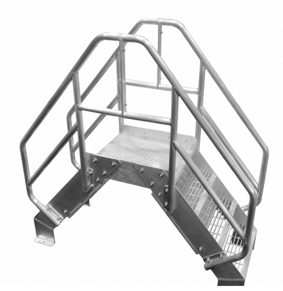 Aluminum Crossover Ladder