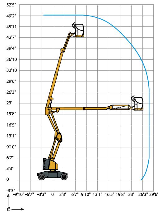 HA 43 JE Articulating Boom Lift