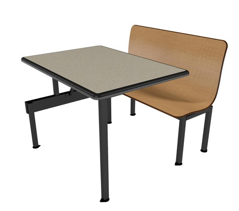 """Contour Bench 42""""W ADA Compliant Wall Seating Units"""