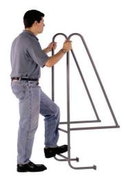 Fixed Steel Dock Ladder