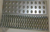 Safety Rolling Ladder Tread Options