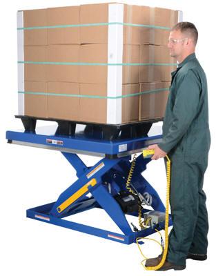 Electric Hydraulic Scissor Lift Tables Model# EHLT-48-4-43