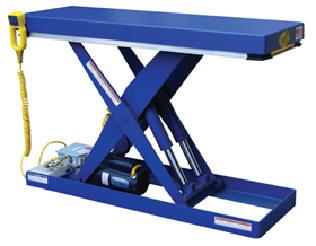 Narrow Electric Hydraulic Scissor Lift Tables EHLT-N-1648-2-32