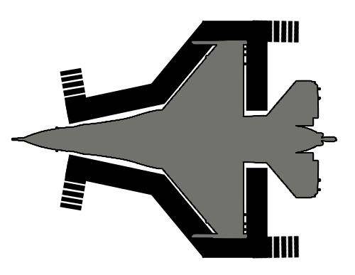 F-16 Full Wrap Maintenance Platform