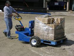 Gas Powered All Terrain Pallet Trucks