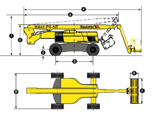 HA 130 JRT Articulating Diesel Boom Lift