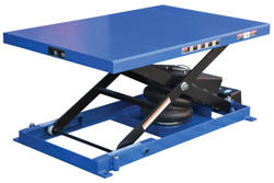 Heavy Duty Air Bag Scissor Lift Tables
