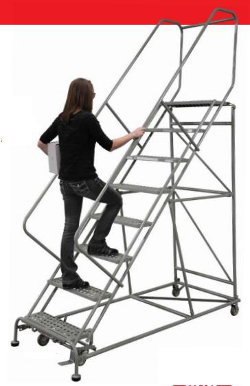 Heavy Duty Ladder Model 2608R2632A6