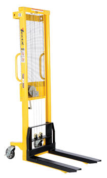Manual Hand Winch Hydraulic Stackers-VWS-770-FF