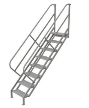 Industrial Access Stairway Ladder