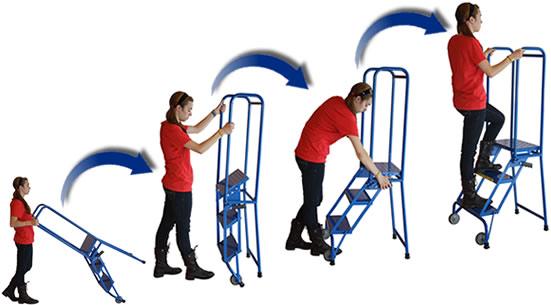 Lock-N-Stock Portable Ladder