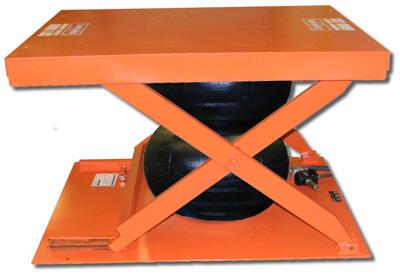 Low Profile Air Bag Lift Table